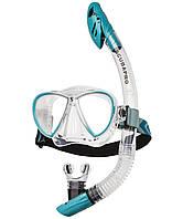 Набор Scubapro SYNERGY Twin COMBO (маска Synergy Twin+трубка Spectradry) прозрачно-бирюзовый