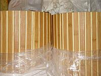 Бамбуковые обои, темно/светлые, п.17/5мм, ширина 0,9м