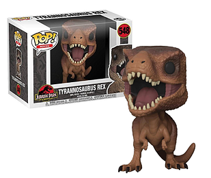 Фигурка Funko Pop Фанко Поп Парк Юрского периода Тиранозавр Рекс Jurassic Park Tyrannosaurus Rex 10 см JTR 548