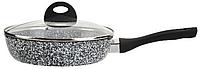 Сковорода с гранитным трехслойным покрытием Edenberg 3440 (28 см)