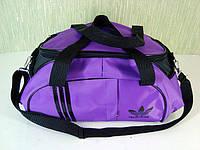 Стильная спортивная сумка ADIDAS LS-530 (фиолетово-черный), фото 1