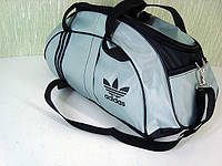 Стильная спортивная сумка ADIDAS LS-530 только темно-серый с черным, фото 1