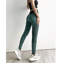 Спортивні штани Binand з високою талією сірі, фото 3