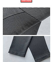 Спортивные леггинсы Binand с высокой талией серые, фото 2