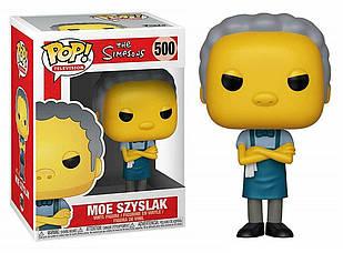 Фигурка Funko Pop Фанко Поп Симпсоны Мо Сизлак The Simpsons Moe Szyslak 10 см S MS 500