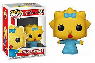 Фигурка Funko Pop Фанко Поп Симпсоны Мэгги Симпсон The Simpsons Maggie Simpson 10 см S M 498
