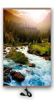 Настенный пленочный обогреватель картина ТРИО Горная река (400 Вт, 60x100 см, 0.7 кг). Гарантия 12 мес.