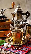 Настенный пленочный обогреватель картина ТРИО Кофе (400 Вт,60x100 см, 0.7 кг). Гарантия 12 мес.