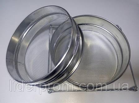 Фильтр-сито  для меда 250 мм оцинкованное прямое  LYSON (Польша)., фото 2