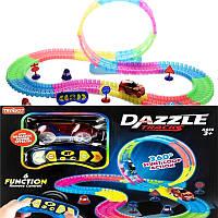 Дитячий трек для машинок DAZZLE TRACKS 187 деталей з пультом управління