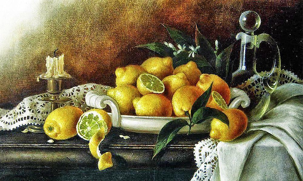 КДИ-0562 Набор алмазной вышивки Лимонный натюрморт