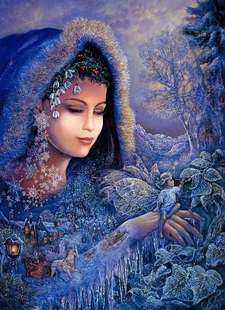 КДИ-0566 Набор алмазной вышивки Ангел Хранитель любви