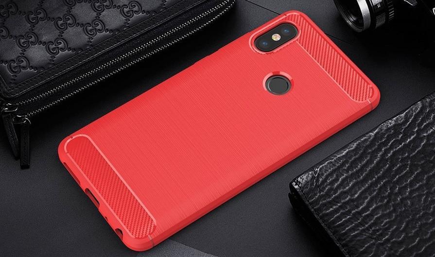 Чехол Carbon Armor для Xiaomi Mi A2 / Mi 6X