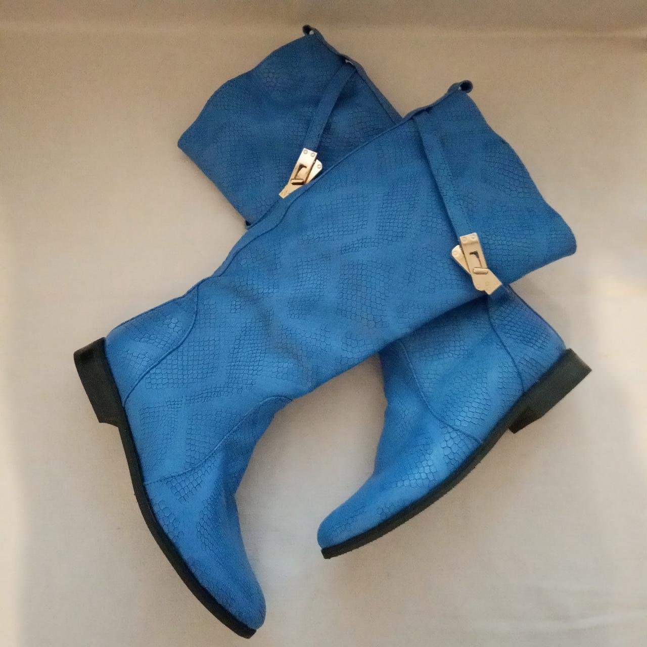 Женские кожаные демисезонные сапоги  Размер 36