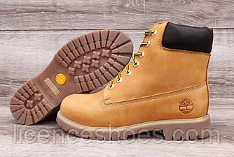 Дитячі, підліткові руді черевики Timberland Ginger