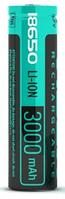 Аккумулятор Videx 18650 3000 mAh с защитой (1шт)