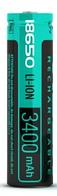 Аккумулятор Videx 18650 3400 mAh с защитой (1шт)