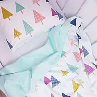 Комплект постільної білизни HappyLittleFox CuteTree, фото 1