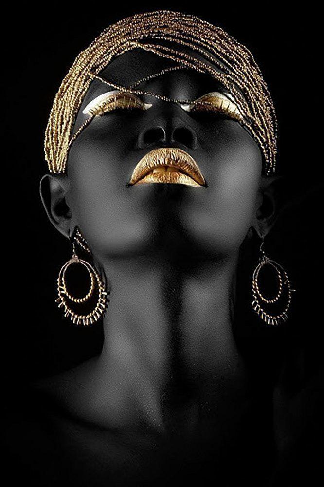 КДИ-0600 Набор алмазной вышивки Черная жемчужина