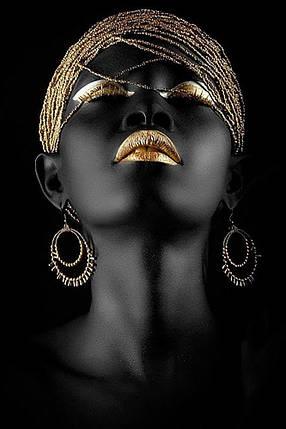 КДИ-0600 Набор алмазной вышивки Черная жемчужина, фото 2