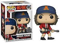 Фигурка Funko Pop Фанко Поп АС ДС АнгусЯнг AC DC Angus Young 10 см ACDC 91