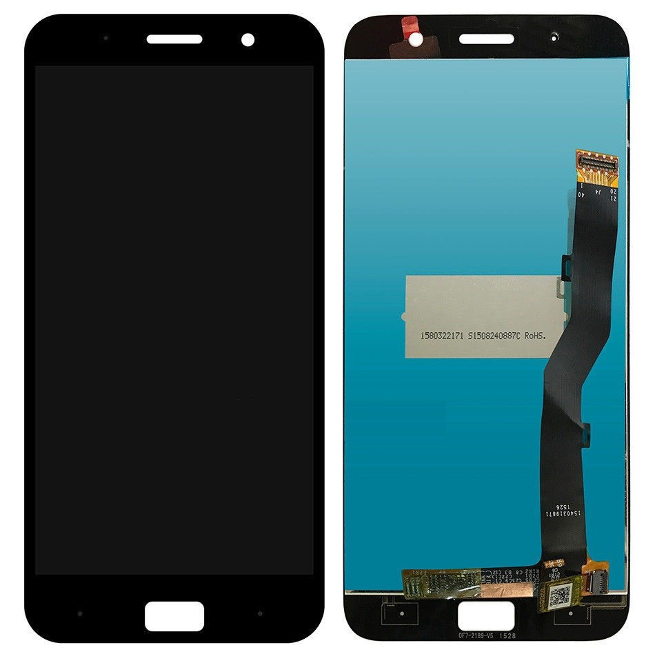 Модуль Lenovo Z1 Zuk black дисплей экран, сенсор тач скрин Леново Зук З1