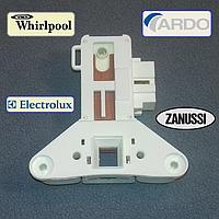 Замок люка стиральной машины Ardo, Whirlpool,  Zanussi и Electrolux