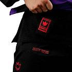 Кимоно для Джиу-Джитсу KINGZ Ultralight 2.0 Черное, фото 3