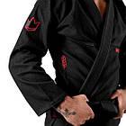 Кимоно для Джиу-Джитсу KINGZ Ultralight 2.0 Черное, фото 4