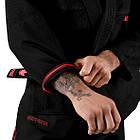 Кимоно для Джиу-Джитсу KINGZ Ultralight 2.0 Черное, фото 6