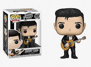 Фигурка Funko Pop Фанко Поп Джонни Кэш Johnny Cash 10см R JC 117