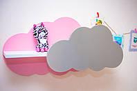 Полка в детскую комнату в форме облака.