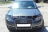 Дефлектор Капота Мухобойка Audi A4 2008-2011