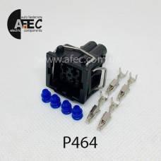 Разьем 4-х контактний датчика температури радіатора Ауді,Фольксваген, фото 2