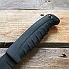 Нож охотничий Кизляр Таран (эластрон) черный (AUS-8 сталь), фото 3