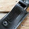 Нож охотничий Кизляр Таран (эластрон) черный (AUS-8 сталь), фото 9