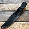 Нож охотничий Кизляр Таран (эластрон) черный (AUS-8 сталь), фото 8