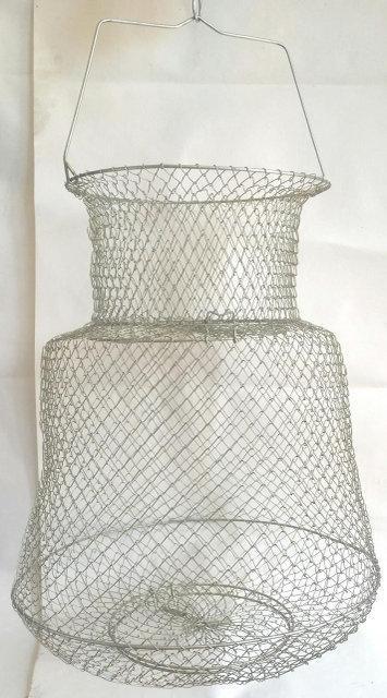 Садок рыболовный металлический круглый диаметр 33см