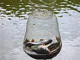 Садок рыболовный металлический круглый диаметр 33см, фото 2