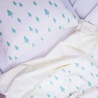 Комплект постільної білизни HappyLittleFox Green Forest, фото 1