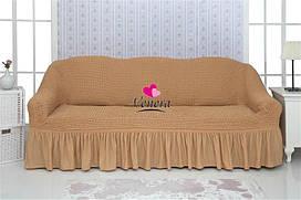 """Комплект чохлів на диван з воланами """"Venera"""""""