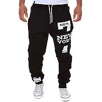 Спортивные мужские штаны с принтом
