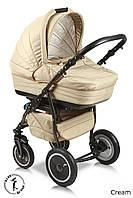Детская универсальная коляска 2 в 1 Ajax Sonet Cream
