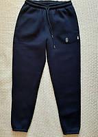 Спортивные штаны теплые мужские  на резинке 46р, фото 1