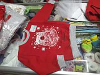 Свитшот детский Новогодний для мальчика р.92 - 110