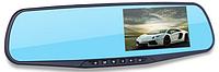 Видеорегистратор Blackbox dvr + компрессор автомобильный (Подарок), автомобильный регистратор зеркало