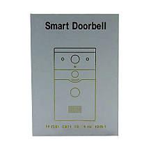 Домофон SMART DOORBELL wifi CAD 720P + ПОДАРОК: Настенный Фонарик с регулятором BL-8772A, фото 3