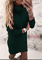 Женское ангоровое платье с хомутом новинка 2019, фото 1