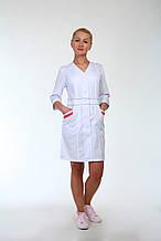 Красивый медицинский халат с карманами