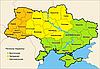 География продаж плетёной мебели в Украине